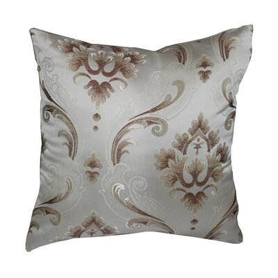 Boutique Luxurious Vintage Throw Pillow Color: Gold
