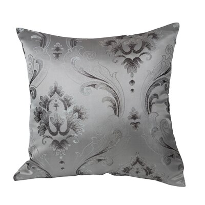 Boutique Luxurious Vintage Throw Pillow Color: Silver