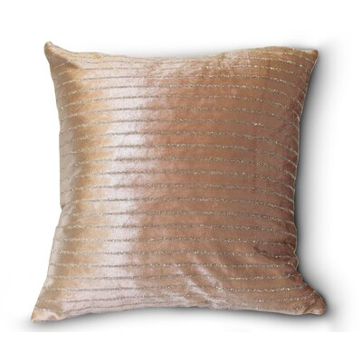 Velveteen Luxurious Vintage Pillow Cover Color: Lilac