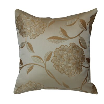 Venetian Luxurious Throw Pillow Color: Gold