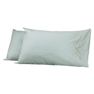 Legendry Pillow Cover Color: Green