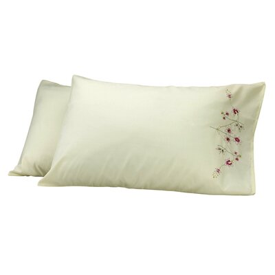 Sensation Pillow Cover Color: Yellow