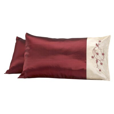 Dream Pillow Cover Color: Burgundy