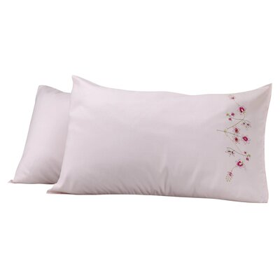 Sensation Pillow Cover Color: Pink