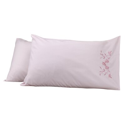 Legendry Pillow Cover Color: Pink