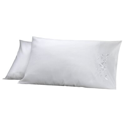 Legendry Pillow Cover Color: White
