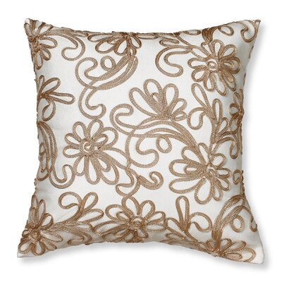 Orangeville Throw Pillow Color: Gold