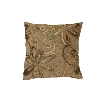 Chatau Throw Pillow Color: Gold