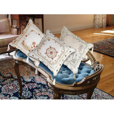 Baulkham Embroidered Pillow Cover
