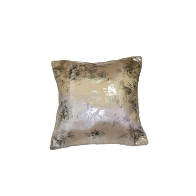 Silky Heritage Decorative Throw Pillow Color: Beige