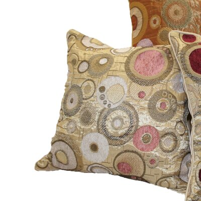Chenille Candy Decorative Throw Pillow Color: Beige/Peach