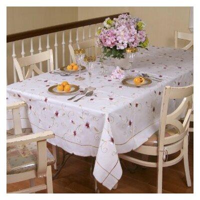 Ascott Embroidered Tablecloth Ascott 5201-BE-2