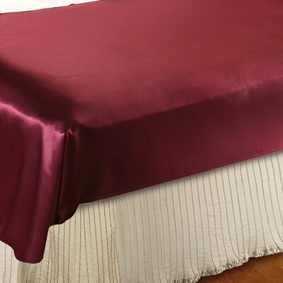 Mini Pleats Luxurious Bed Ruffle Size: Queen, Color: Pearl