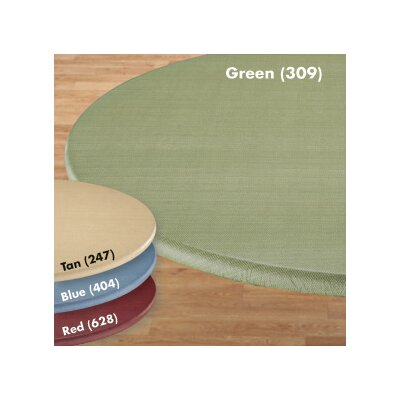 Basketweave Elastic Table Cover Size: Large, Color: Green
