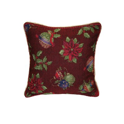 Seasonal Jingle Bells Pillow Cover