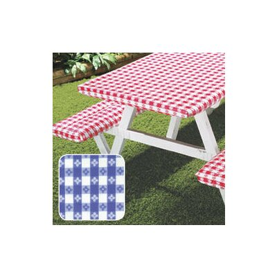 Deluxe Picnic Table Cover Color: Blue