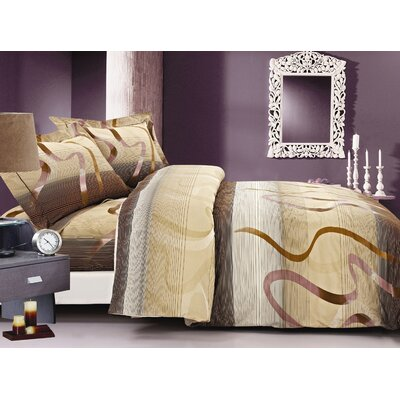 French Swivel Luxurious Duvet Cover Set Size: 48