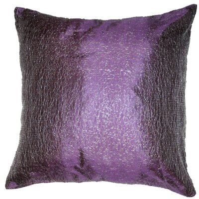 Monte Carlo Tafetta Nittle Mesh Lace Pillow Cover Color: Lilac