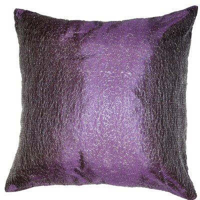 Monte Carlo Tafetta Nittle Mesh Lace Throw Pillow Color: Lilac