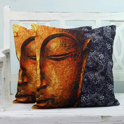 Chaparral Buddhas Presence Cotton Pillow Cover