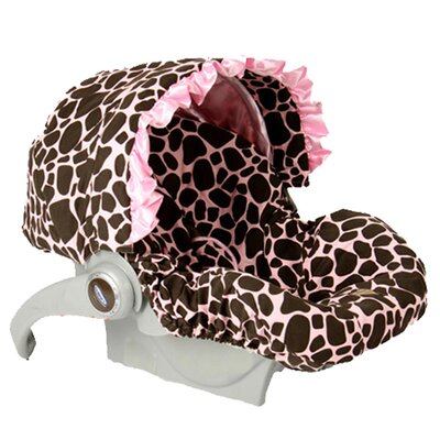 Baby Bella Maya Infant Car Seat Cover with Canopy - Color: Ginny Giraffe at Sears.com