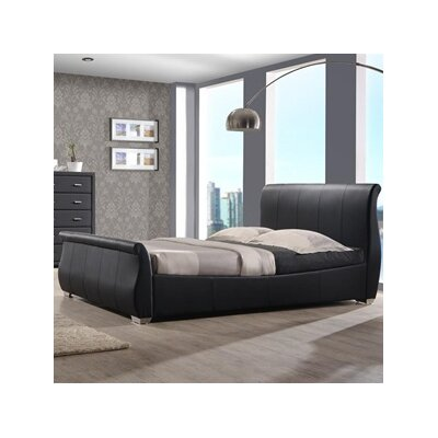 Benson Upholstered Sleigh Bed Size: Queen