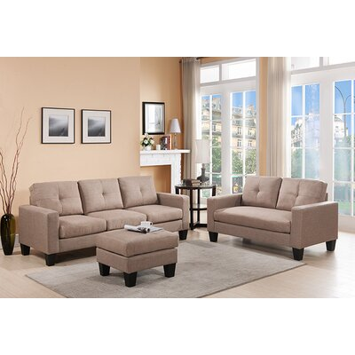 Bradford 3 Piece Living Room Set