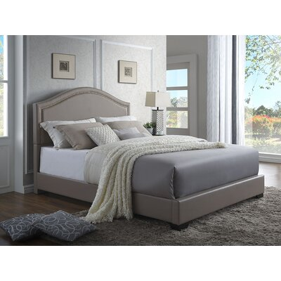 Granville Upholstered Panel Bed Size: King