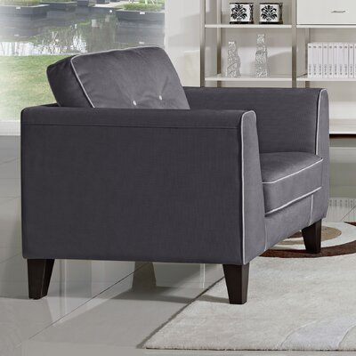 Mayfair Armchair Upholstery: Grey