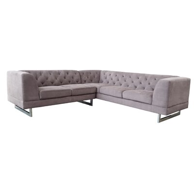 Palomino Sectional Upholstery: Raisin Grey