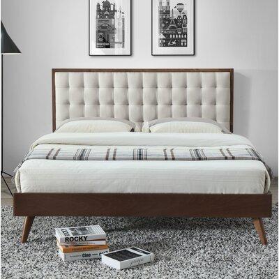 Abril Queen Upholstered Platform Bed