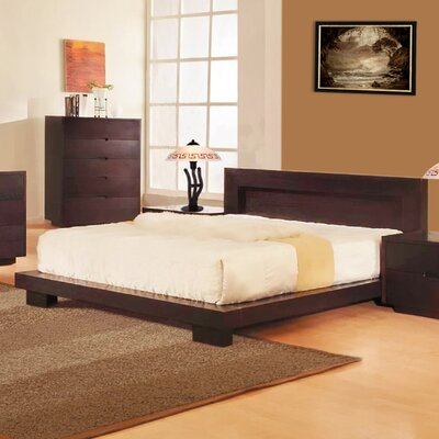 Buy Low Price DG Casa Bliss 4 Piece Platform Bedroom Collection Size King