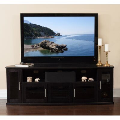 Newport 80 TV Stand Color: Black