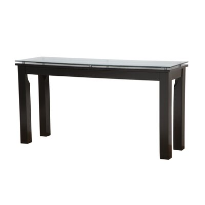 SL Console Table Table Top Color : Clear