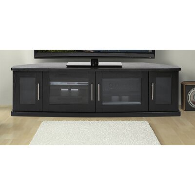 Newport Corner 62 TV Stand Color: Black Oak
