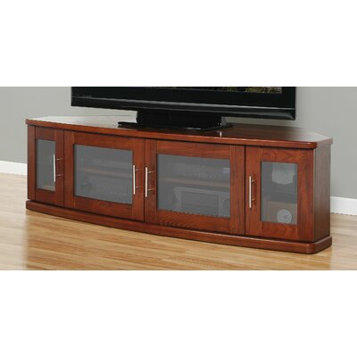 Newport Corner 62 TV Stand Color: Walnut