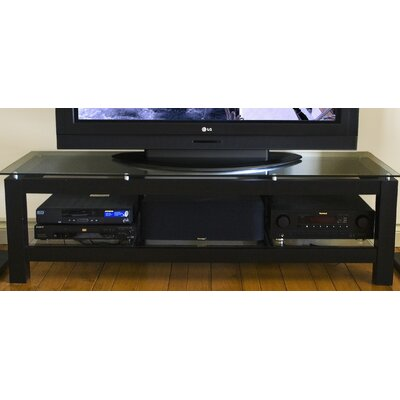 SL Series 50 TV Stand Glass Color: Clear Glass