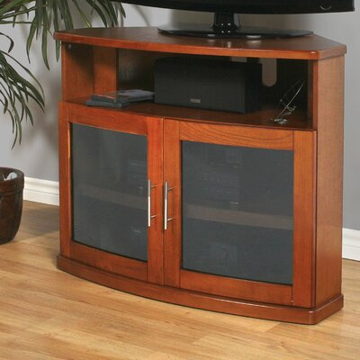 Newport 40 TV Stand Color: Walnut