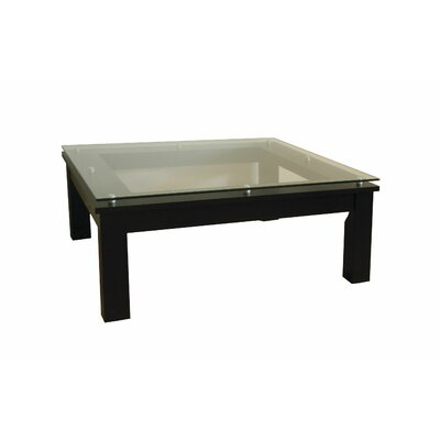 SL Series Coffee Table Top Finish: Clear Glass