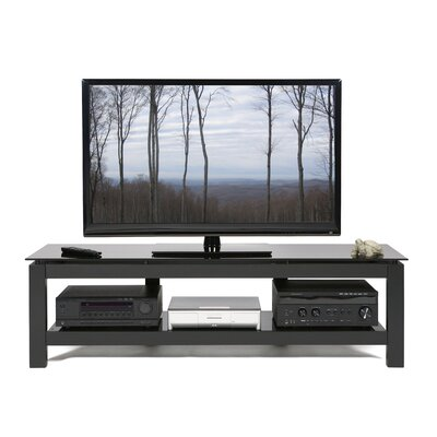 Cheap Plateau SL Series 64″ TV Stand with One Shelf Glass Color: Clear (PT0155_2809348)