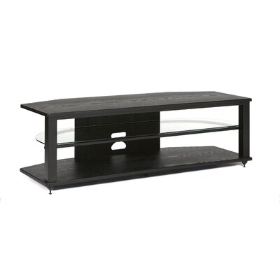 54-64 TV Stand Color: Black, Size: 54