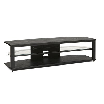54-64 TV Stand Color: Black, Size: 64