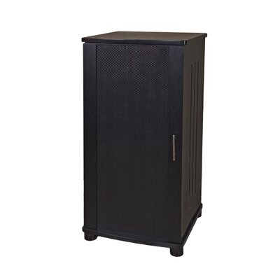 "LSX Series 52"" Audio Cabinet Finish: Black Oak"
