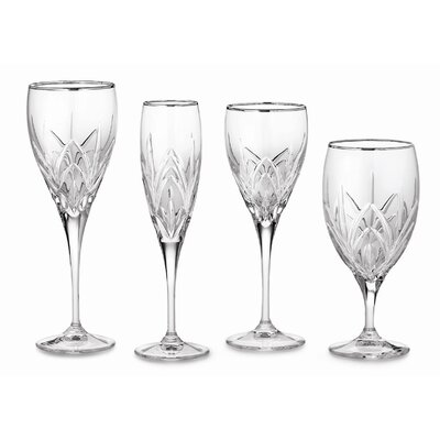 Marquis By Waterford-caprice Platinum Iced Beverage Glass