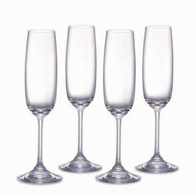Vintage Champagne Flutes (set Of 4)