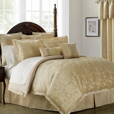 Isabella 4 Piece Comforter Set Size: King