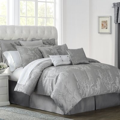 Lauren 4 Piece Comforter Set Size: California King