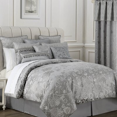 Samantha 4 Piece Comforter Set Size: King