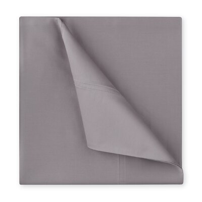 Williamsburg 400 Thread Count Cotton Sateen Sheet Set Size: King, Color: Grey