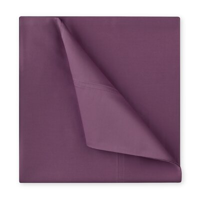 Williamsburg 400 Thread Count Cotton Sateen Sheet Set Size: Full/Double, Color: Berry